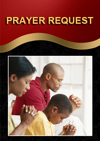 Prayer Request Block